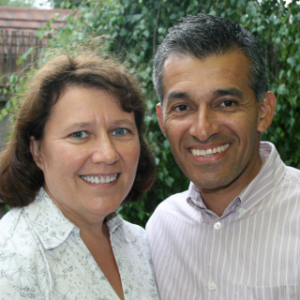 A photograph of Daniel and Gail Castro