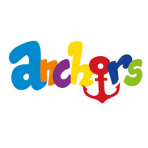 A logo of the word 'Anchors' with an anchor incorporated into it