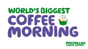 Macmillan's World's Biggest Coffee Morning Logo