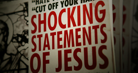 Image for Shocking Statements of Jesus
