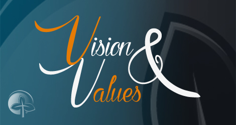 Image for Vision and Values